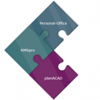 Krammer & Partner, Produkte, Personal-Office, planACAD, RMSpro, Puzzle