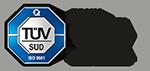 Logo TÜV ISO 9001:2015