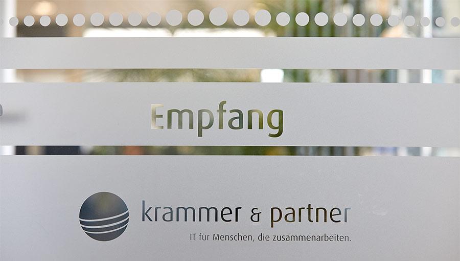 Krammer und Partner, Unternehmen, Empfang