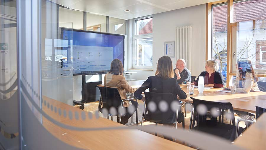 Krammer und Partner, Unternehmen, Meeting